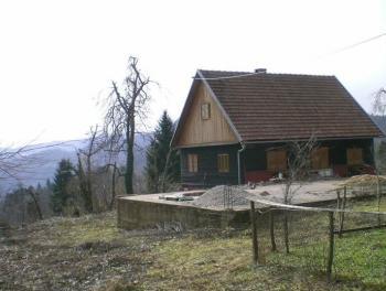 GORSKI KOTAR, ČABAR, 110m2, KUĆA S 30.000m2 TERENA