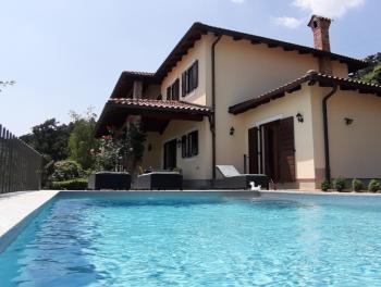 Opatija, Veprinac, prekrasna kuća s bazenom i panoramskim pogledom