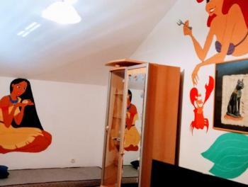 Saršoni, samostojeća kuća s velikom okućnicom