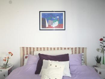 Opatija, Ičići, 1-sobni stan s db, lođa, pogled