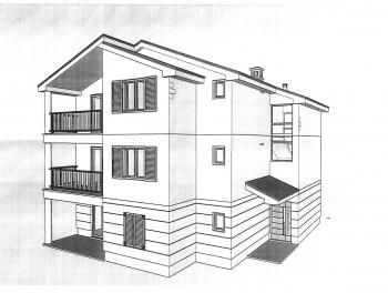 Otok Krk, Soline, novogradnja, 2s+db, balkon