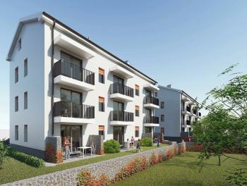 Viškovo, novogradnja, 1-sobni stan s db, balkon