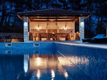 Istra, Svetvinčenat, ekskluzivna vila s bazenom