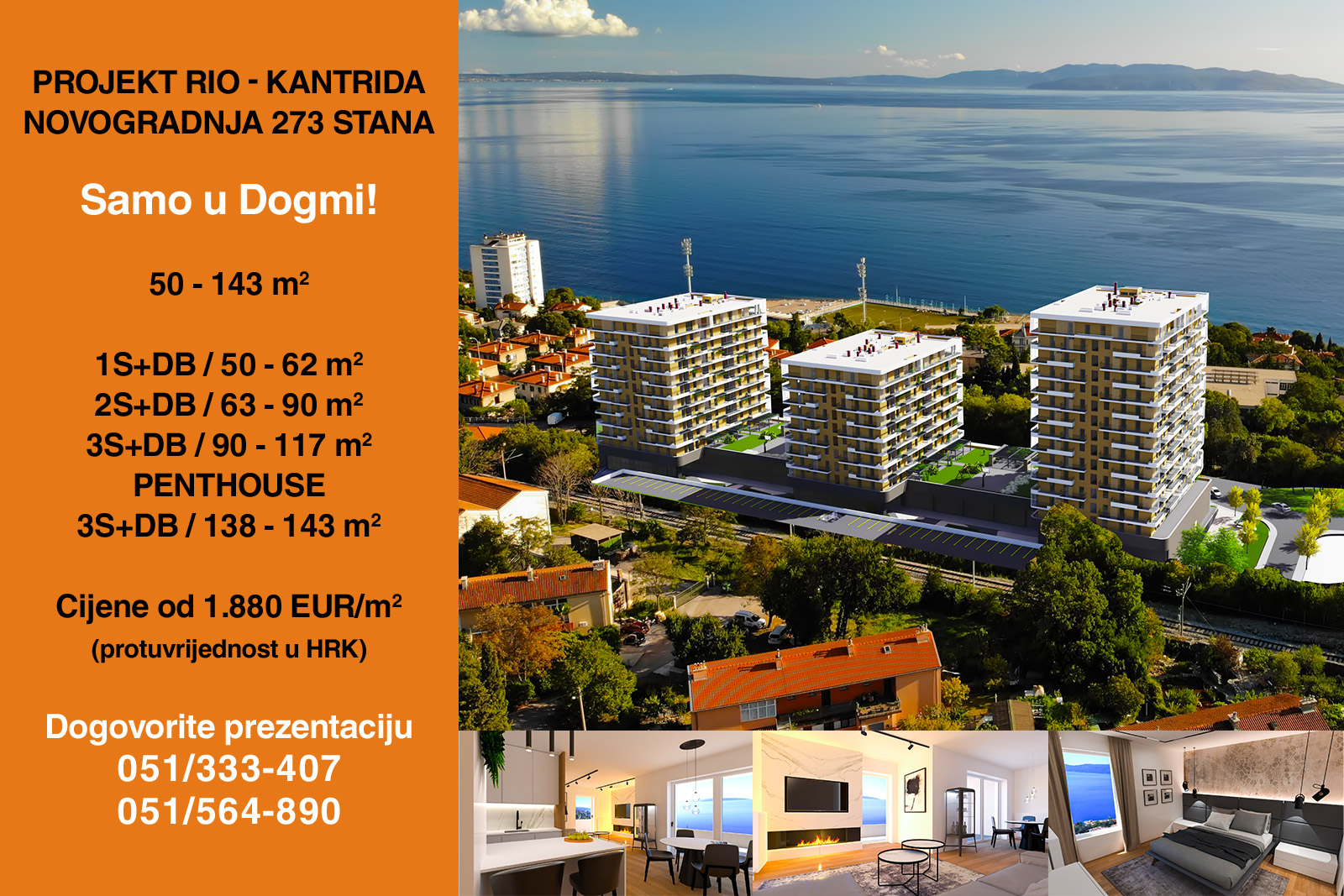 Apartment Umag, 48,78m2