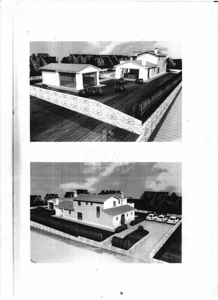 Kršan, zemljište,1287m2