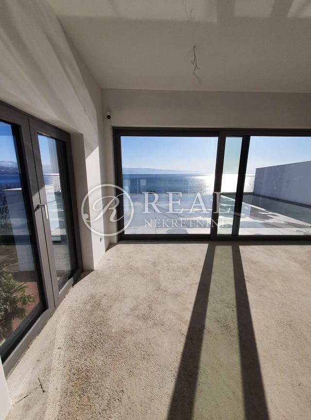 Opatija Diamond Residence-Dvoetažni penthouse stan 435  m2,terasa pogled na more