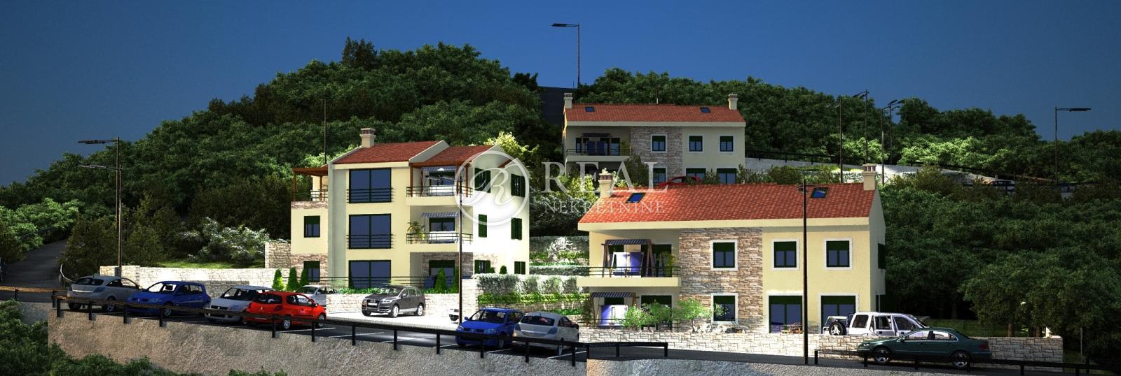 Kastav, dvoetažan stan u urbanoj vili od 161 m2