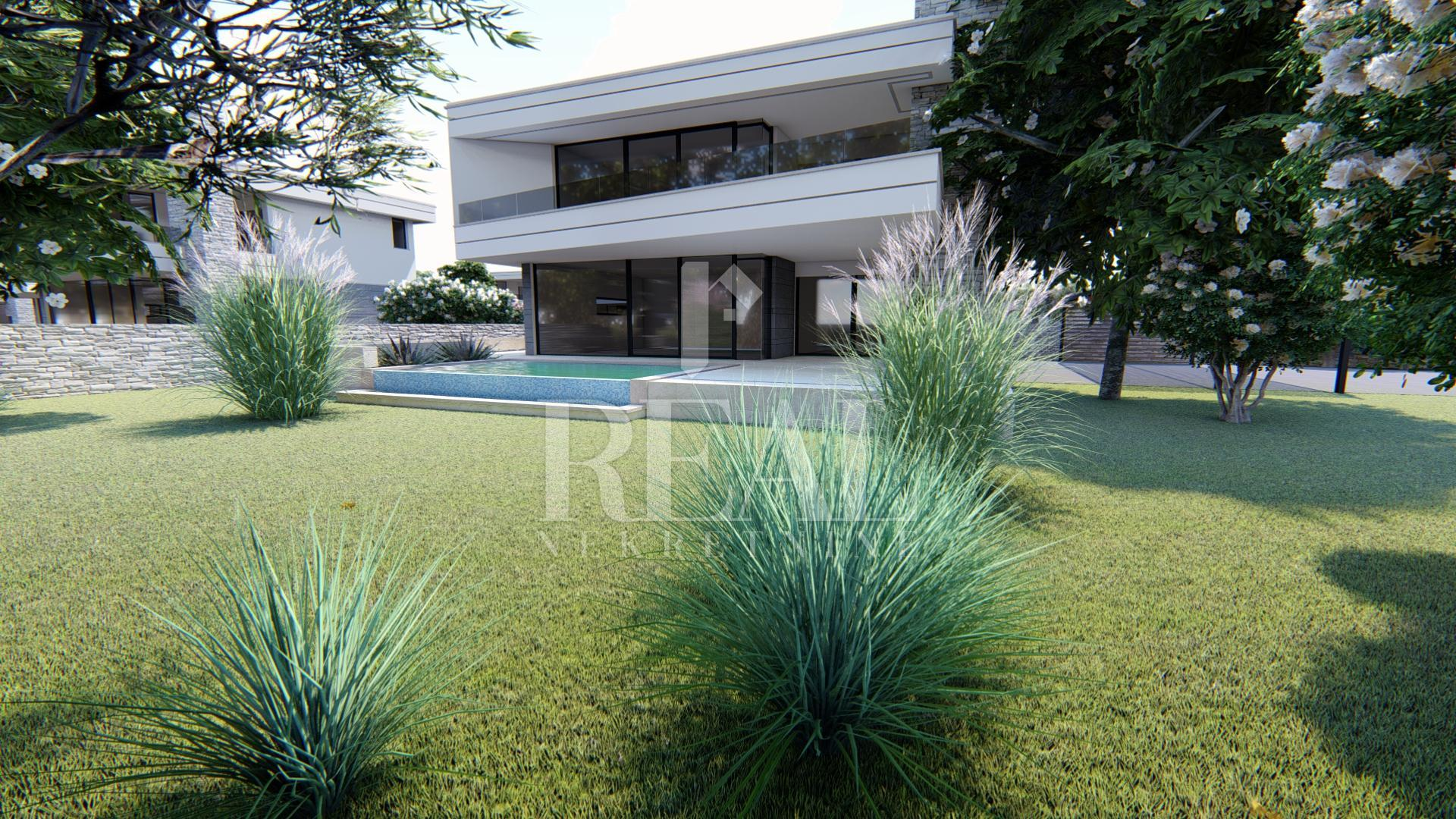 Građevinsko zemljište od 8000 m2 za gradnju 10 vila s bazenima