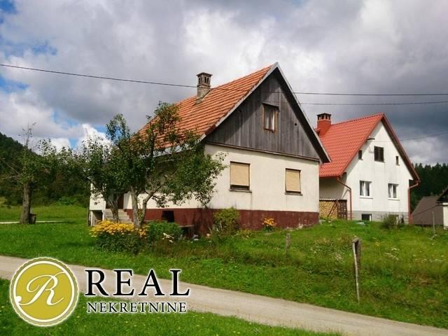 Groski kotar- Tršće, kuća, 72 m2
