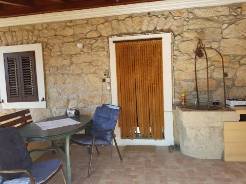 Krk- Gabonjin, kuća P+1, 75 m2