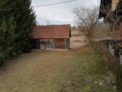 Kuća u izgradnji 160 m2 sa sjenikom i 4000 m2 okućnicw