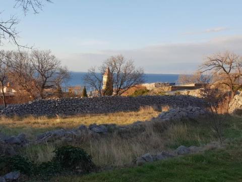 Građevinsko zemljište 543 m2,pogled na more