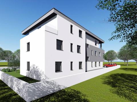 Apartman u Novalji novogradnja 2S + DB 81,52 m2