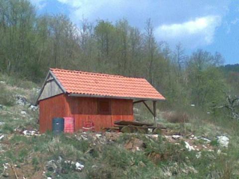Građevinski teren 800 m2, pogled na more, Veprinac