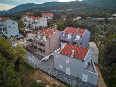 Novogradnja 200m od mora,stan 53,78m2,balkon 9 m2