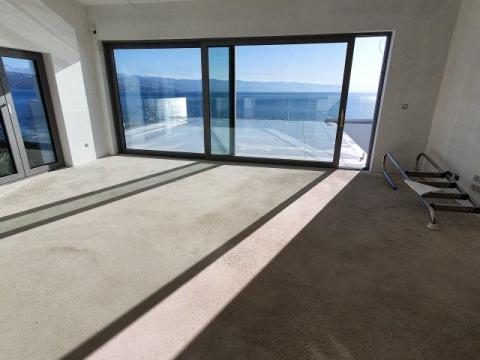 Opatija Diamond Residence-Dvoetažni penthouse stan,348 m2,terasa pogled na more