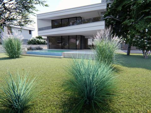 Građevinski teren za vilu s bazenom od 694 m2