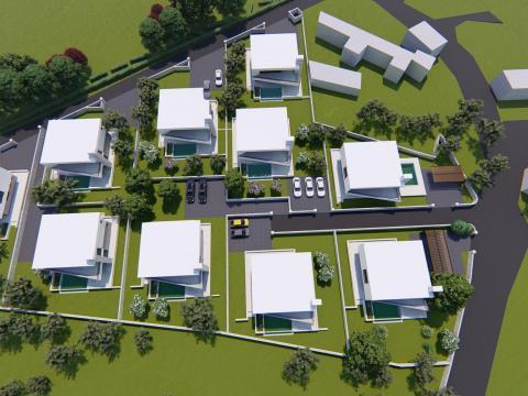 Građevinski teren u okolici Bala od 771 m2