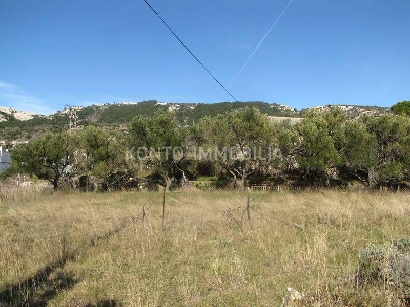 Rab, Mundanije, građevinsko zemljište sa pogledom