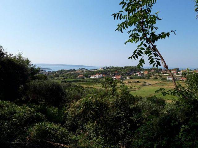 Rab, građ. zemljište sa pogledom na more