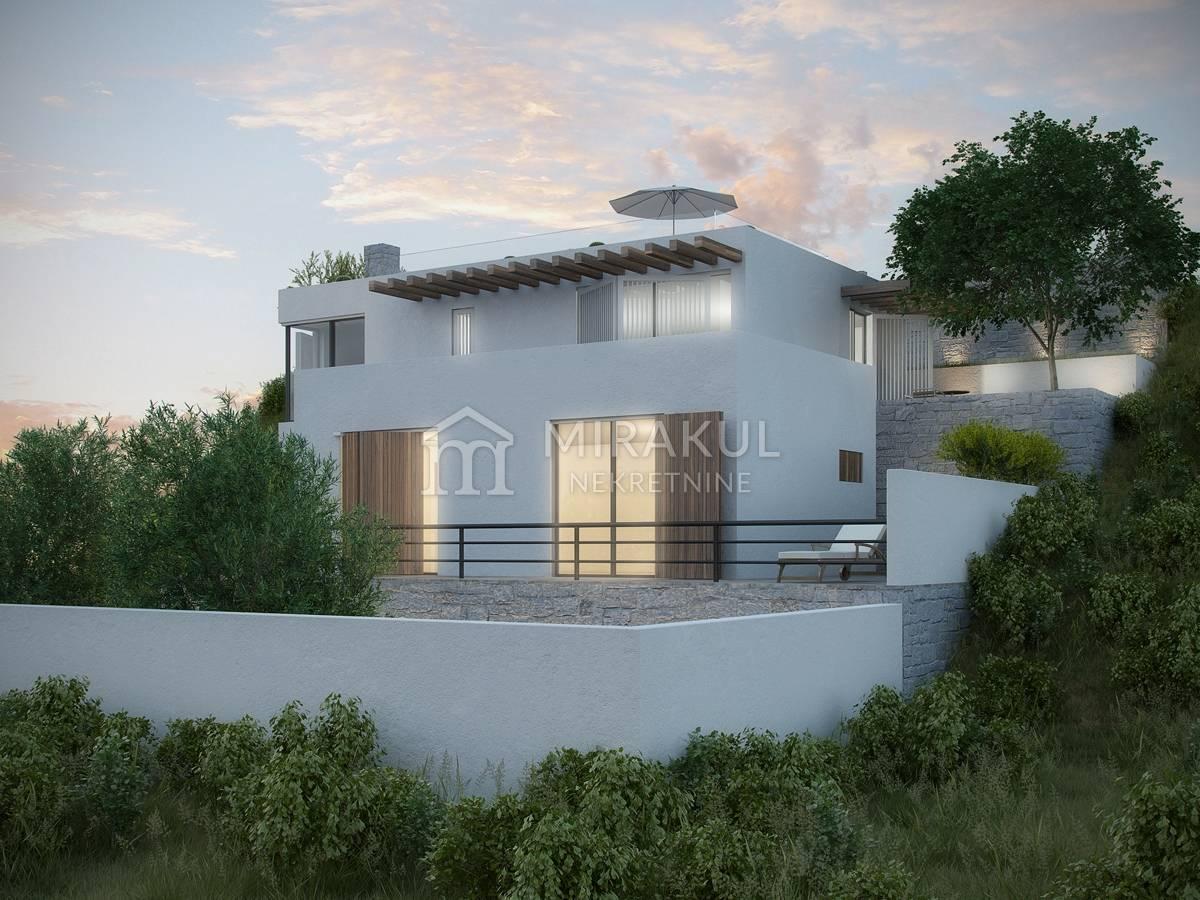 Croatia - Tisno, Exclusive villa with panoramic sea views