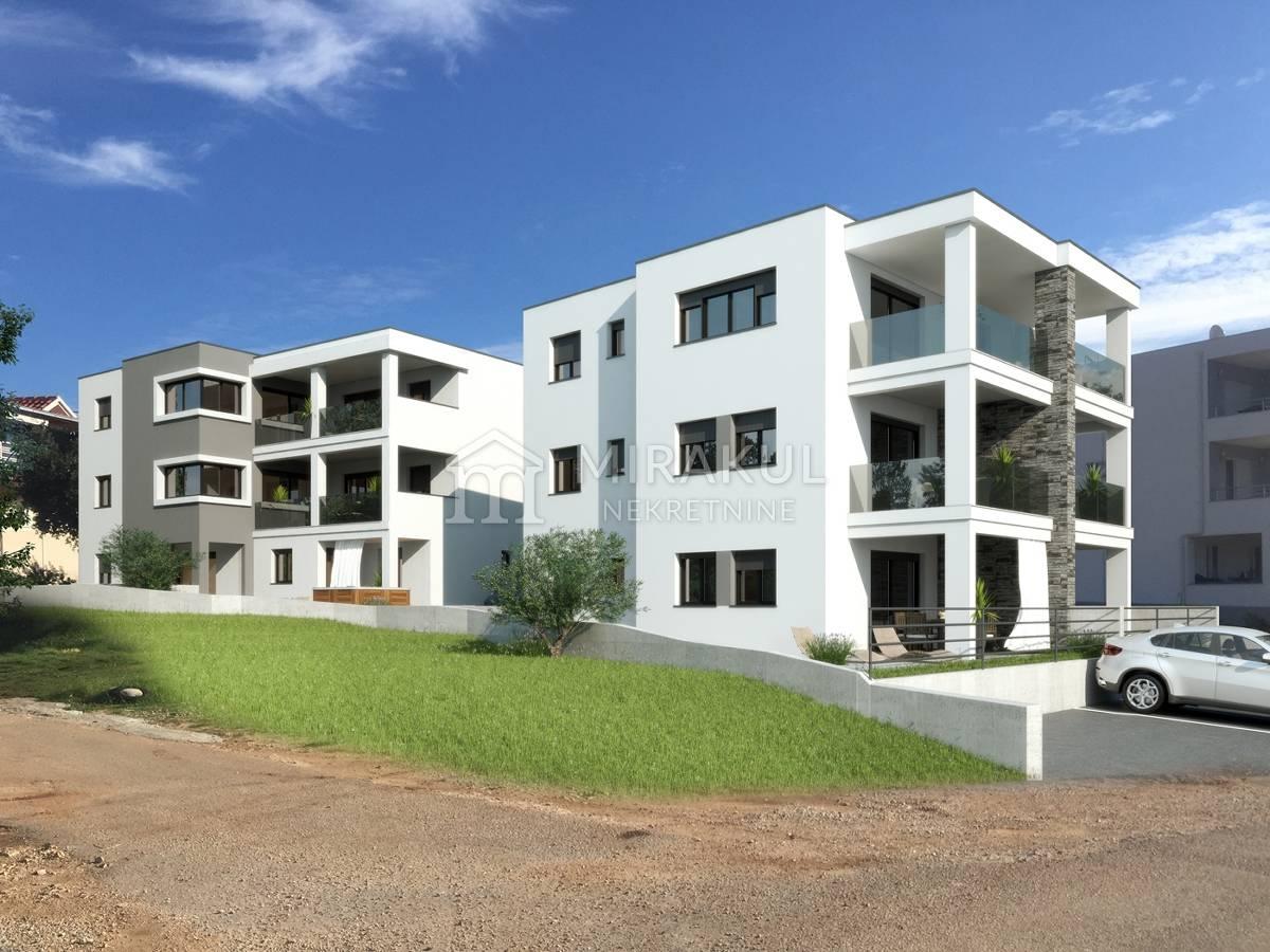 Properties Grebaštica Croatia, flat, Mirakul Real Estate agency, ID - AG - 601, Flats in the first row to the sea