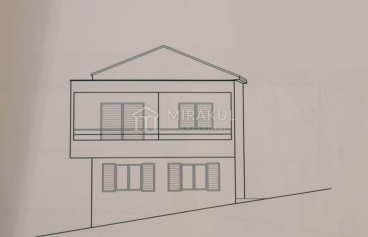 Nekretnine Tisno, kuća, Mirakul nekretnine, ID - KT - 453, Kuća za renoviranje za 2 stana