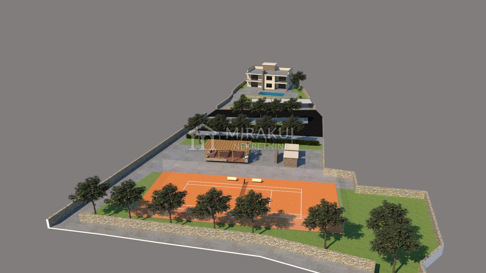 Nekretnine Vodice, Prodaja zemljišta na atraktivnoj lokaciji u prvom redu do mora GV-300, Mirakul nekretnine 3