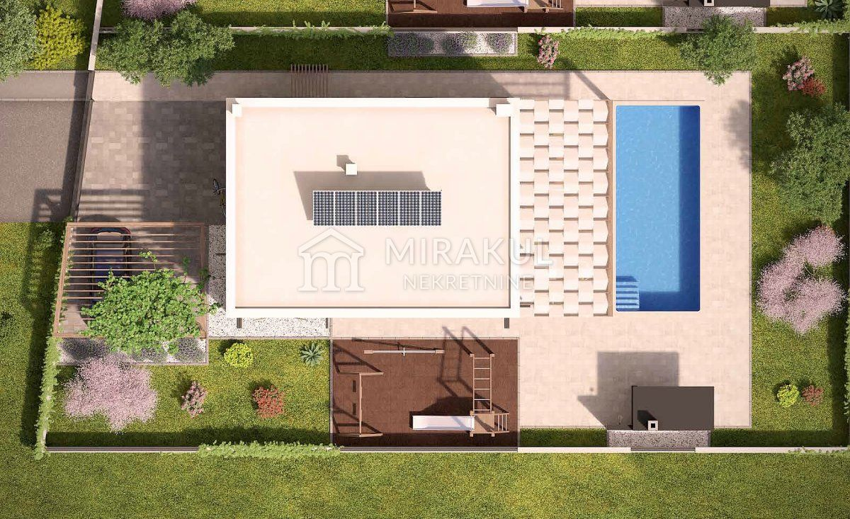 Drinovci, Građevinsko zemljište sa dozvolom za 6 vila s bazenima