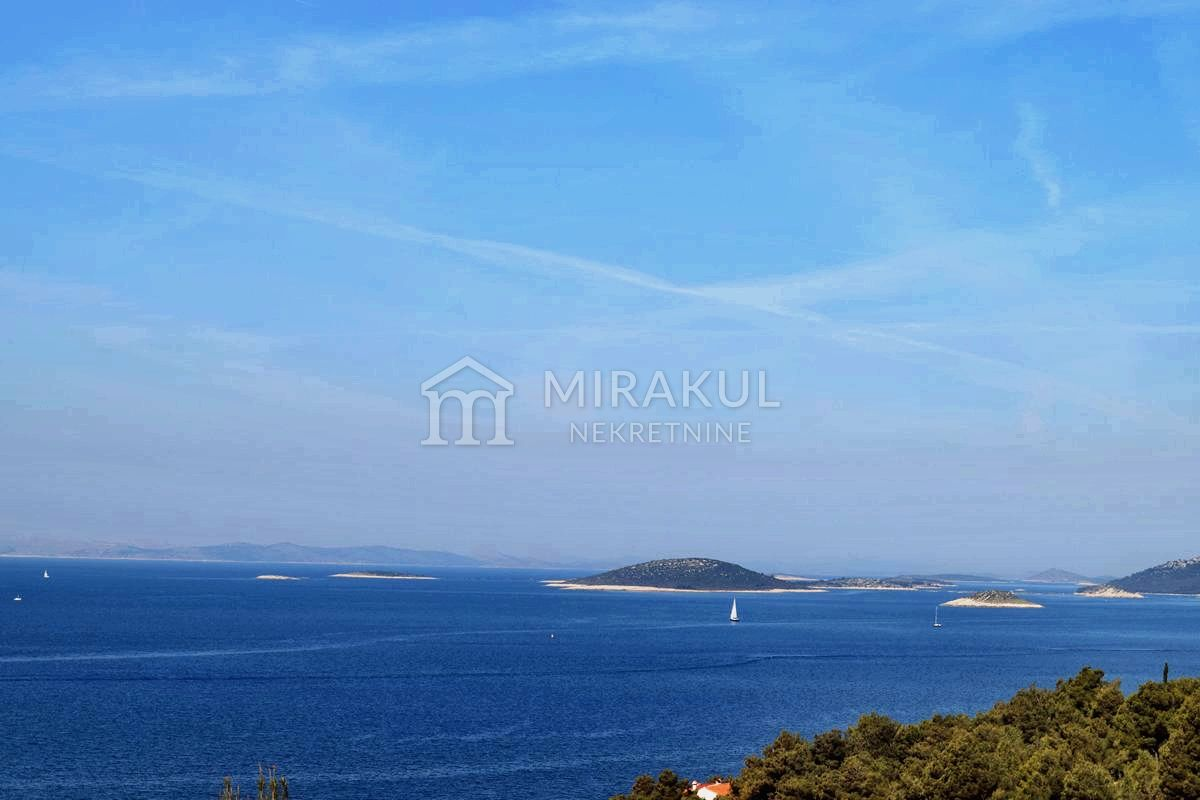 Properties island of Murter Croatia, land, Mirakul Real Estate agency, ID - GM - 314, Building plot with view of the Kornati