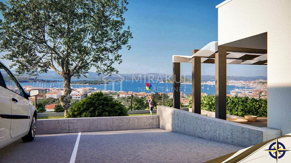 Properties island of Murter Croatia, flat, Mirakul Real Estate agency, ID -AM - 625, New apartments near the beach