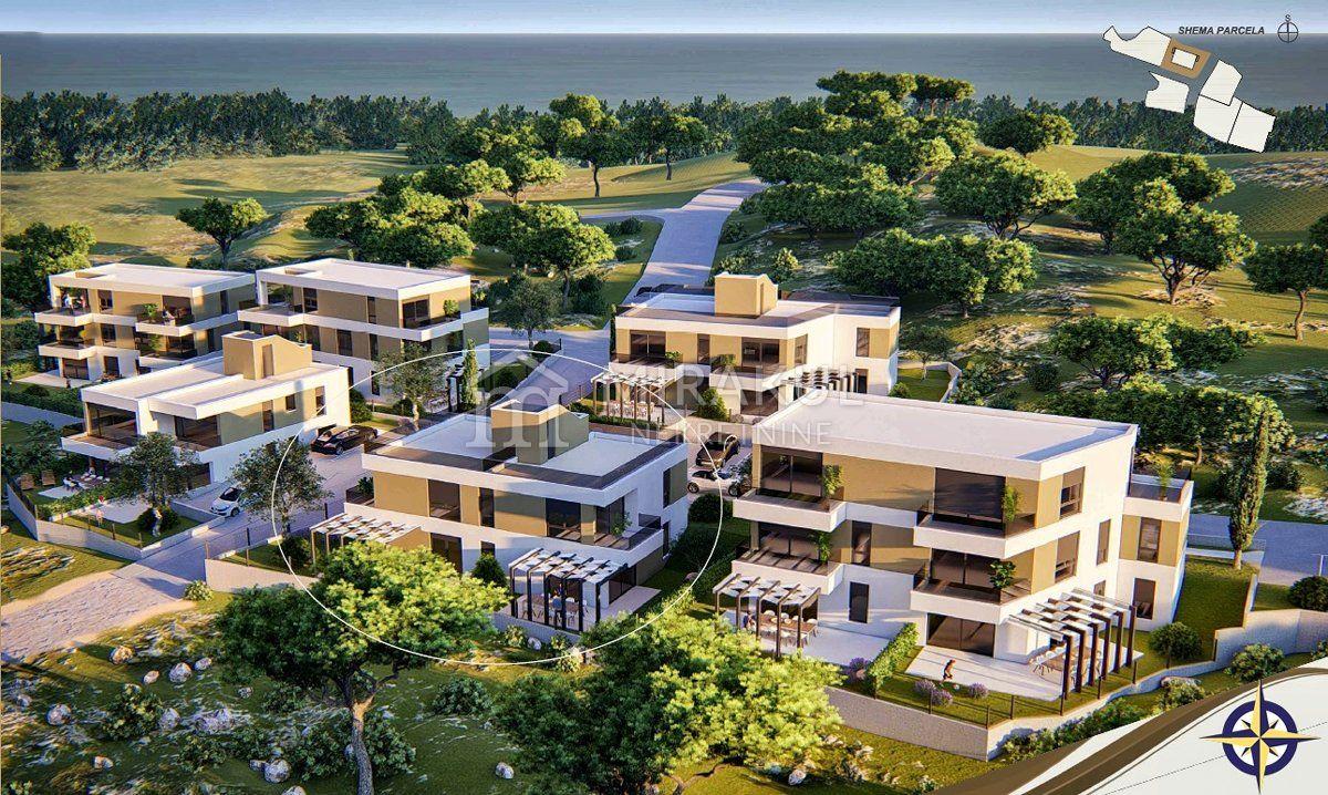 Immobilien Murter, Verkauf von Wohnungen in luxus Komplex AM-634, Mirakul Immobilien