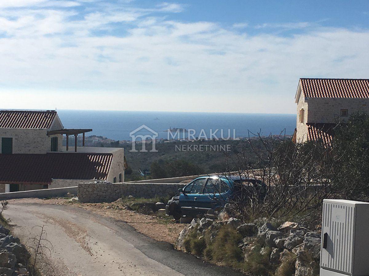 Nekretnine Rogoznica, Prodaja zemljišta sa panoramskim pogledom GR-325, Mirakul nekretnine