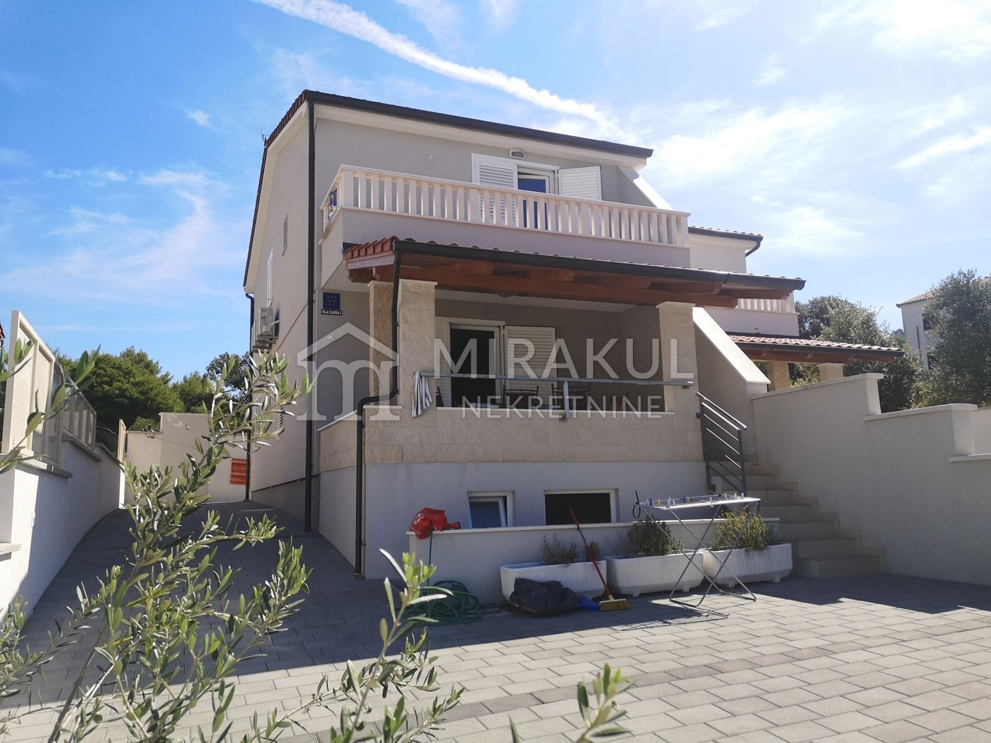 Properties Rogoznica Croatia, flat, Mirakul Real Estate agency, ID - AR-645, Apartment with sea view in Ražanj 1