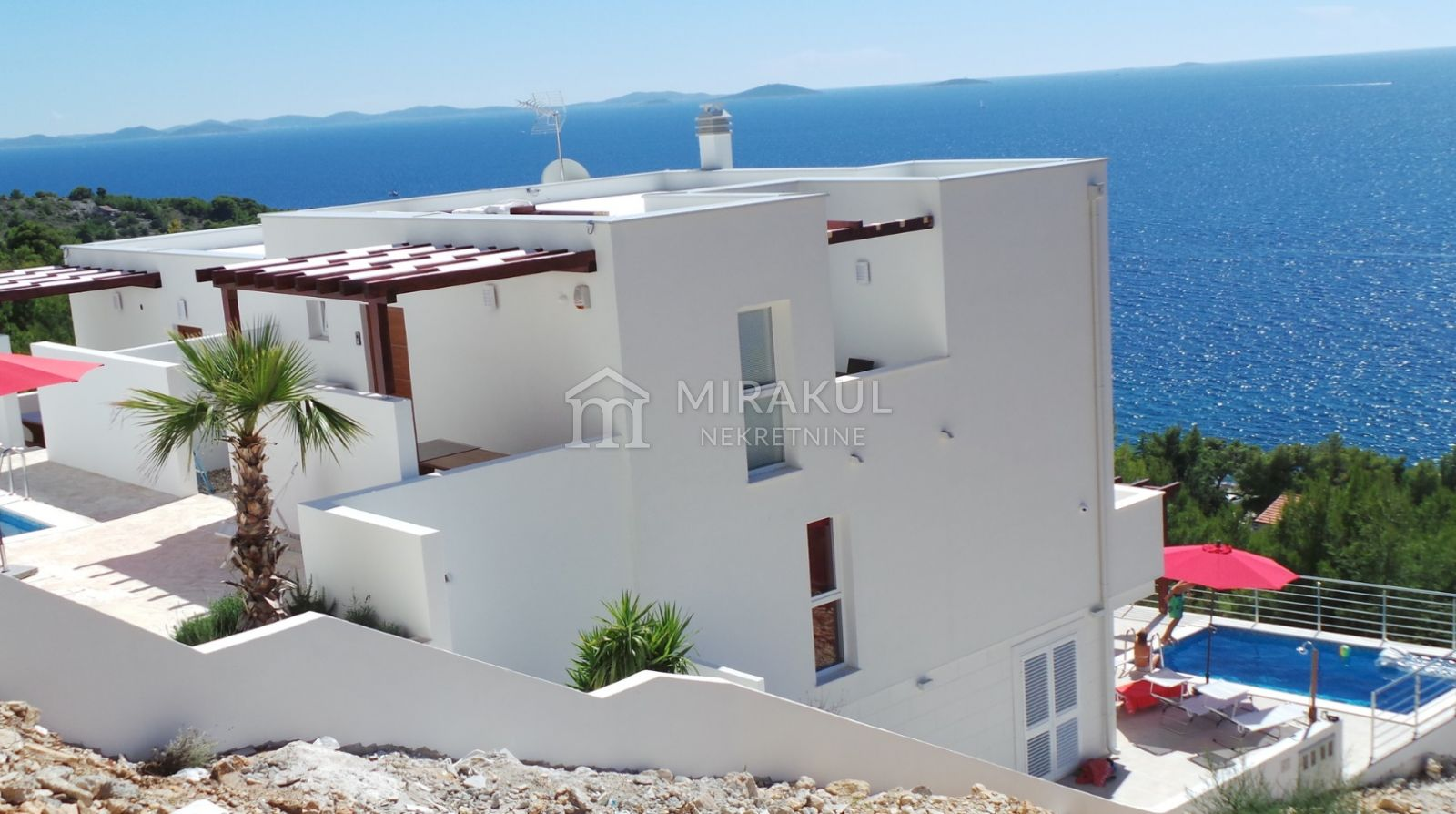 Nekretnine otok Murter, stan, Mirakul nekretnine, ID - AM-655, Luksuzni stan sa pogledom na Kornate 1