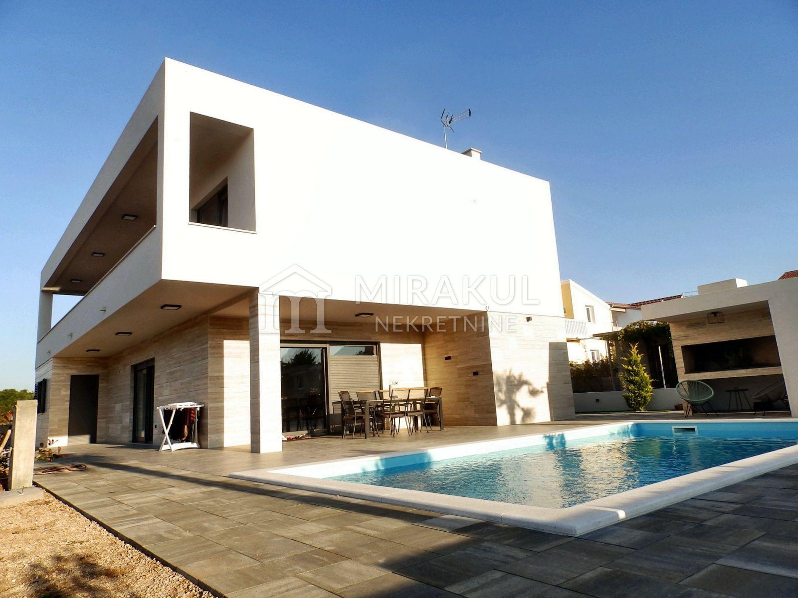Ingatlan Vodice Horvátország, ház, Mirakul ingatlaniroda, ID - KV-505, Új villa medencével, csendes helyen 1