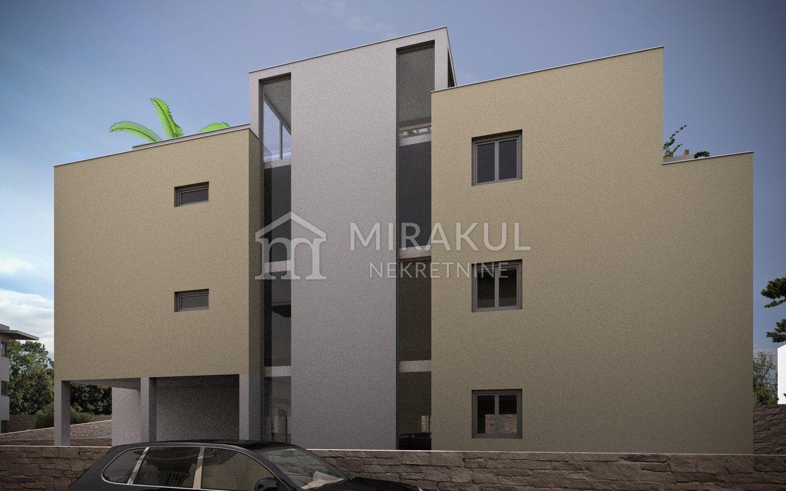 Vodice, Novogradnja, Apartman PP3 u prizemlju