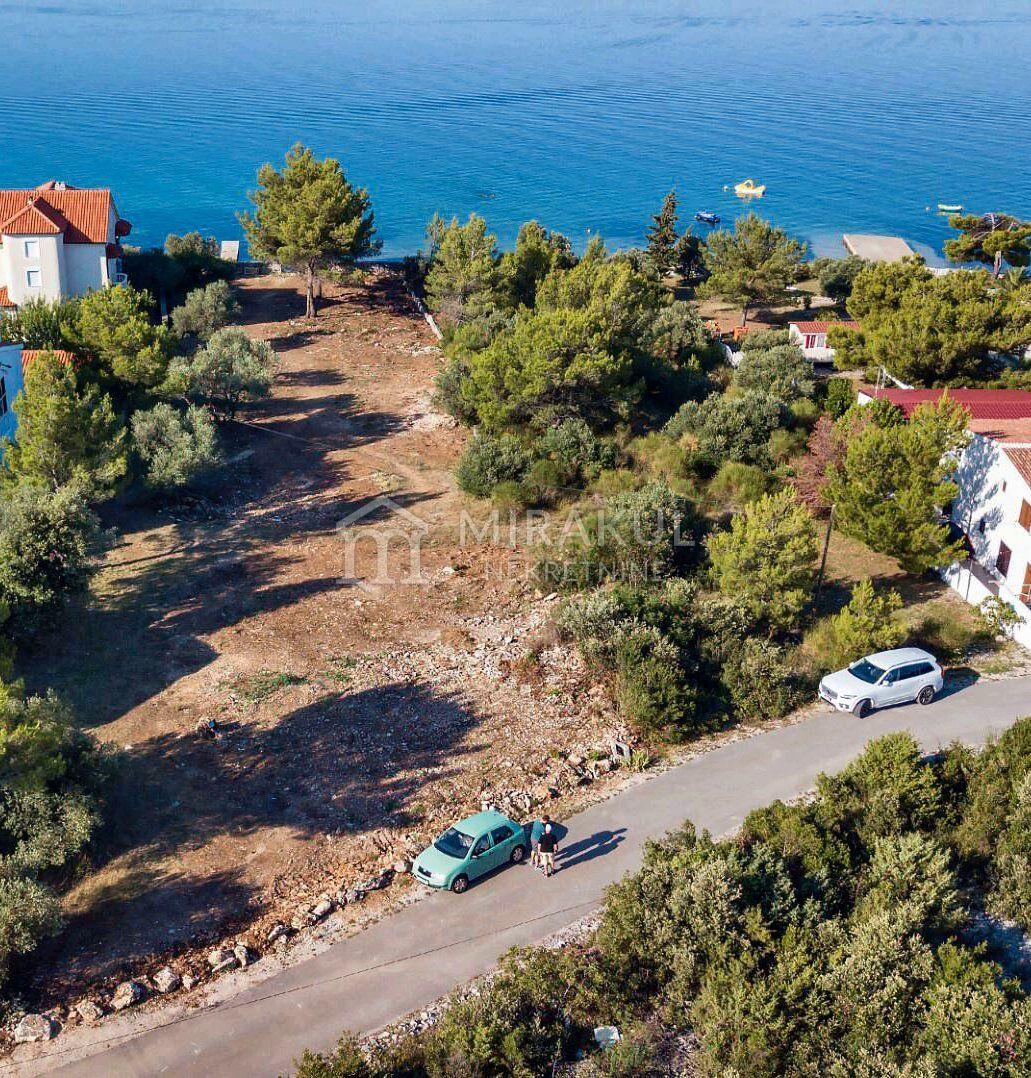 Immobilien Pirovac Kroatien, Land, Mirakul Immobilienagentur, ID - GP-338, Baugrundstück in erster Reihe zum Meer 2
