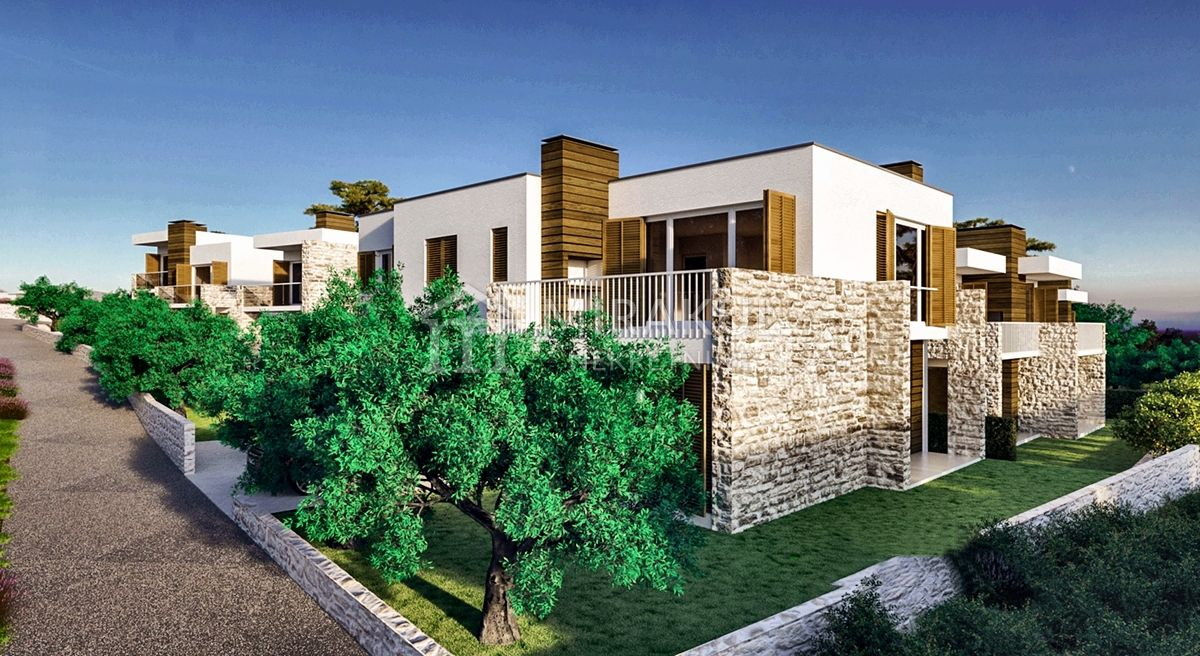 Croatia - Vodice, Newly built apartments in area Obrove