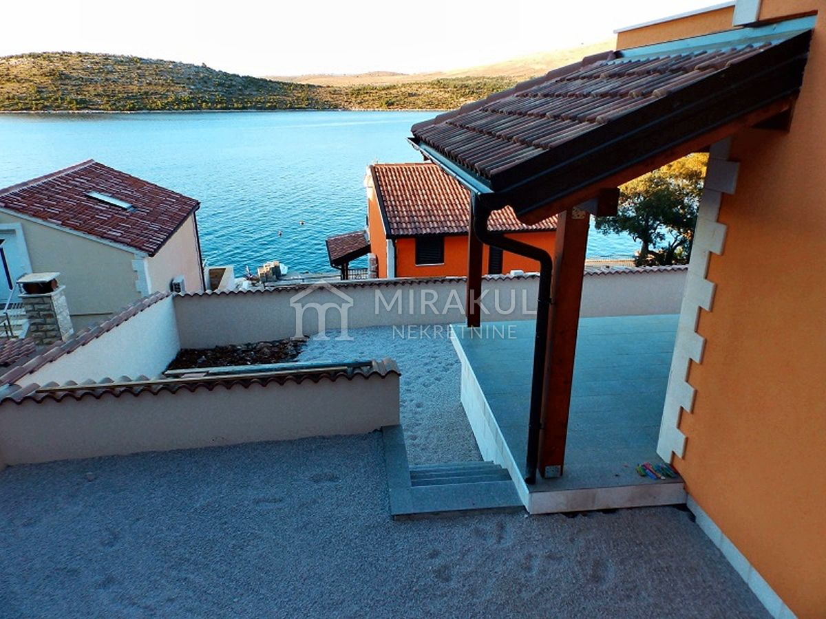 Croatia - Šparadići, Family house in the second row to the sea