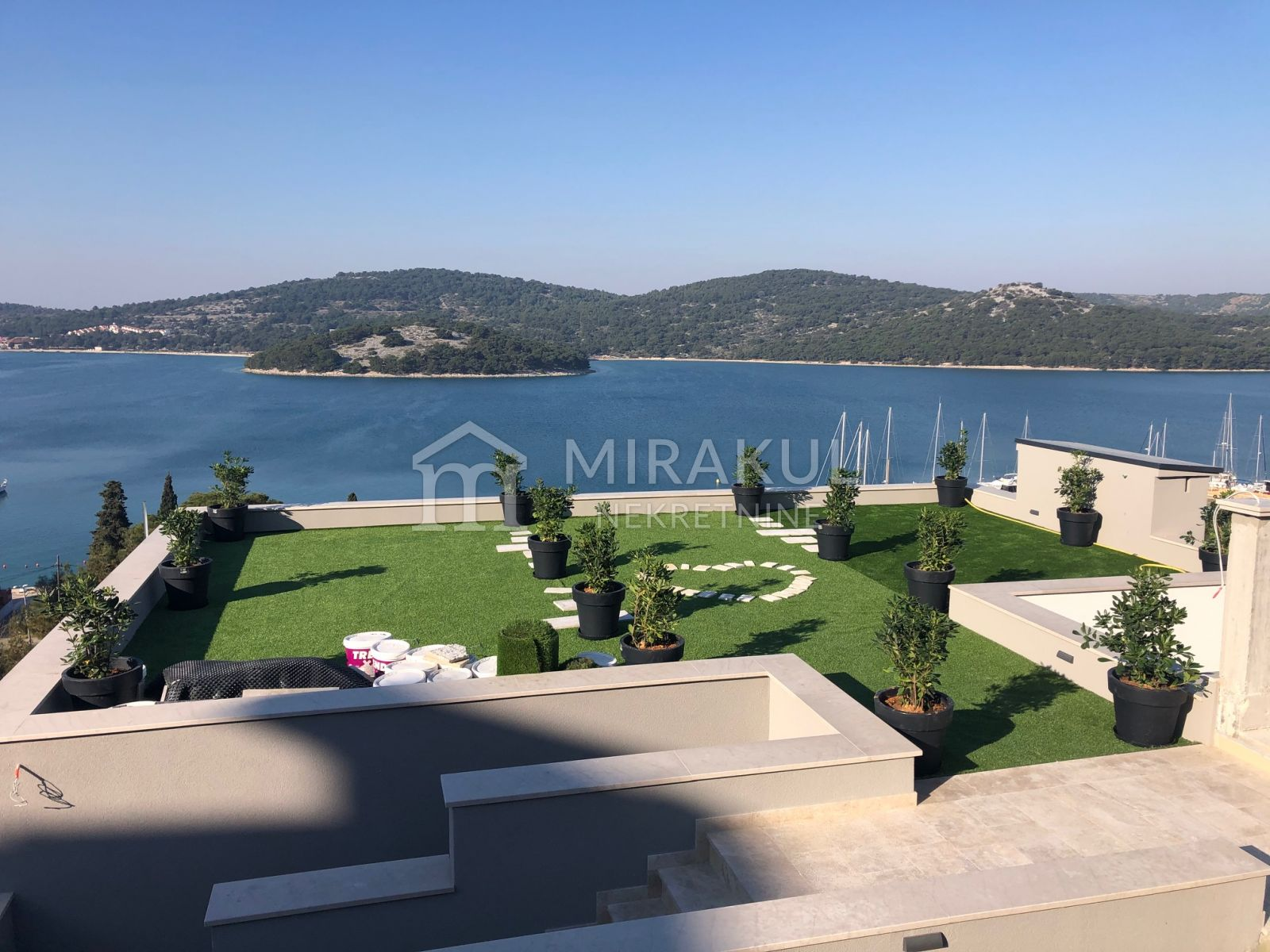 Immobilien Tisno, Verkauf von exklusive Villa mit Pool und Meerblick, KT - 532, Mirakul Immobilien 1