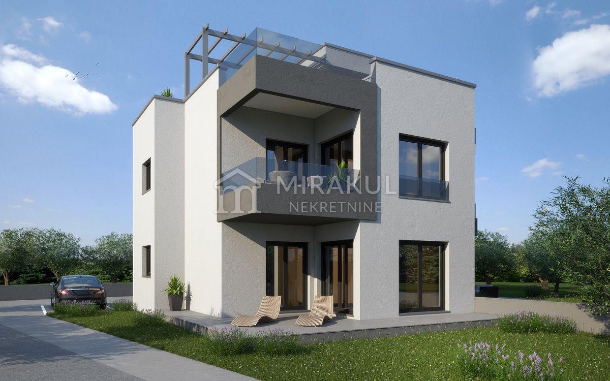 Nekretnine Murter, Prodaja novog stana blizu plaže AM-734, Mirakul nekretnine 1