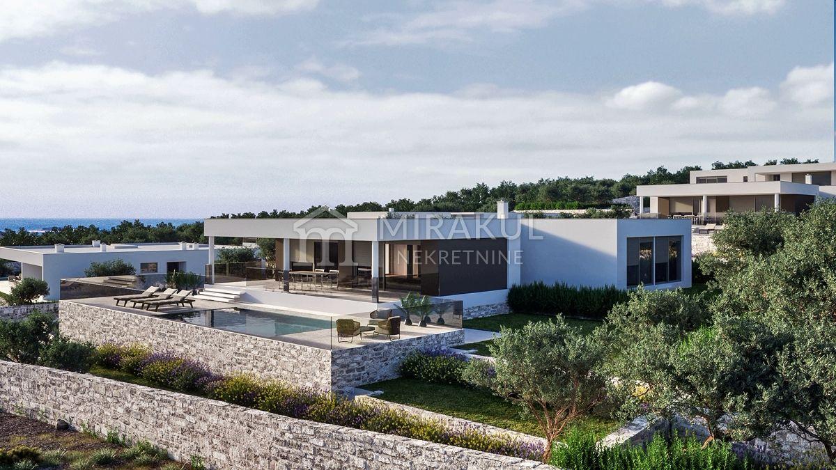 Real estate Primošten, Exclusive villa with panoramic sea views