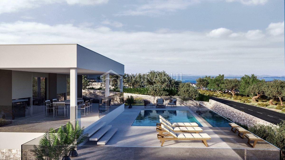 Real estate Primošten, Luxury villa for sale in an elite complex with a swimming pool, KP-538, Mirakul real estate 1