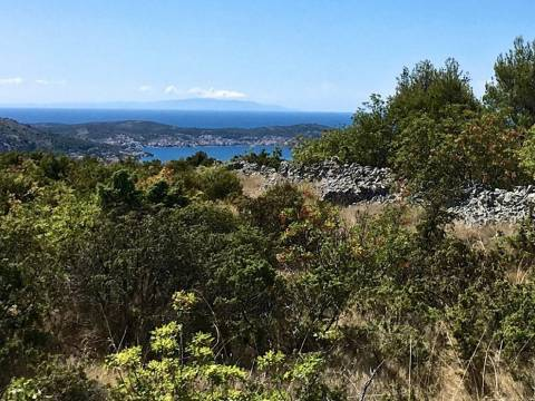 Rogoznica Ingatlan, Eladó földterület egy családi farmhoz, kilátással a tengerre, PR-274, Mirakul Ingatlanok 2
