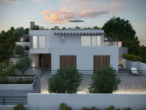 Properties Tisno Croatia, house, Mirakul Real Estate agency, ID - KT - 442, Villa with sea view