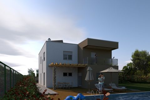 Properties Šibenik Croatia, house, Mirakul Real Estate agency, ID - KŠ - 451, House with pool in nature
