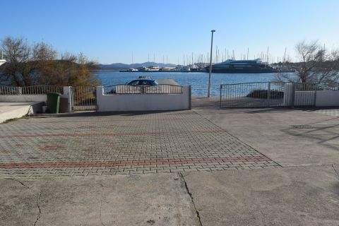 Croatia - Betina, Residential building first row to the sea