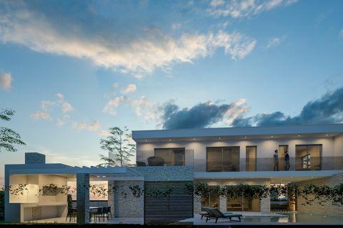 Ingatlan Srima Vodice Horvátország, ház, Mirakul ingatlaniroda, ID - KS - 465, Luxus villa medencével a tenger közelében