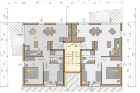 Nekretnine Murter, Prodaja lijepih stanova u novom stambenom kompleksu AM-624, Mirakul nekretnine 3